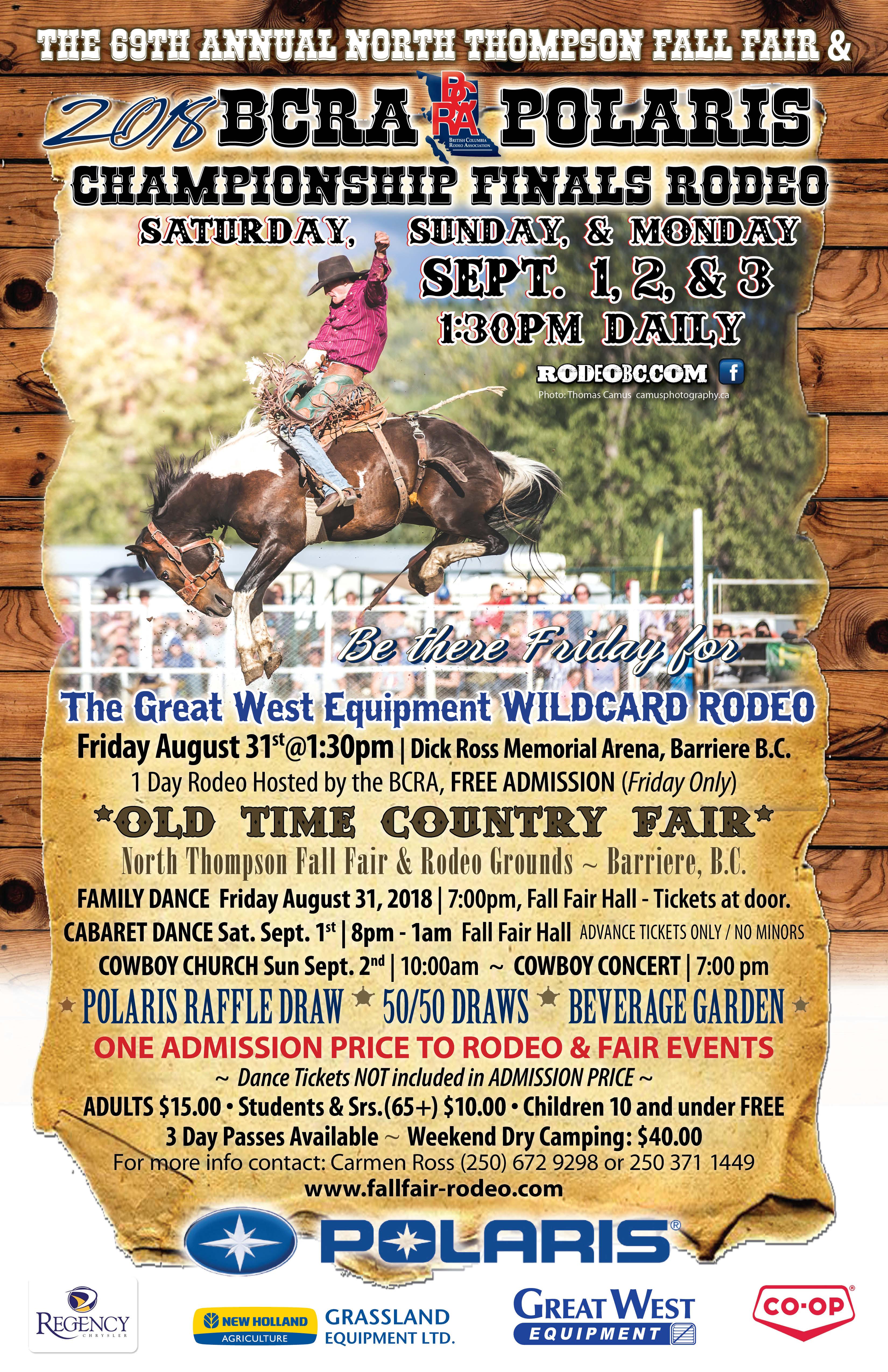 Finals Bc Rodeo Association